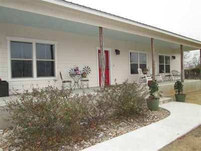 Burnet Single Family Home For Sale: 910 Lewis