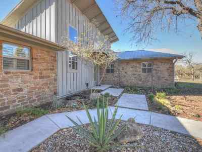 marble falls Single Family Home For Sale: 218 Tierra Verde