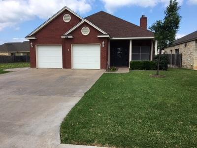 Burnet County Single Family Home For Sale: 134 Dove