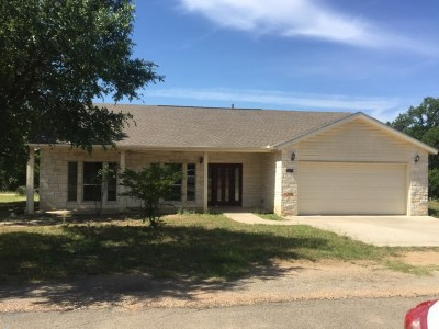 Granite Shoals Single Family Home For Sale: 1504 Timber Valley