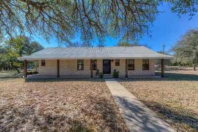 Burnet County Single Family Home For Sale: 1147 Cr 100