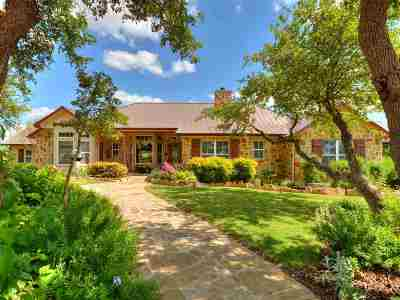 Burnet Single Family Home For Sale: 3401 Wolf Creek Ranch