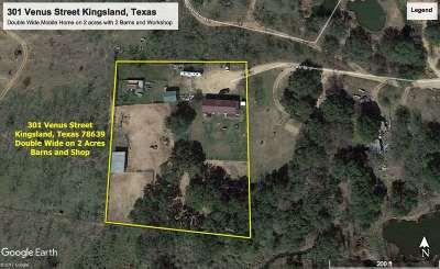 Kingsland Single Family Home For Sale: 301 Venus