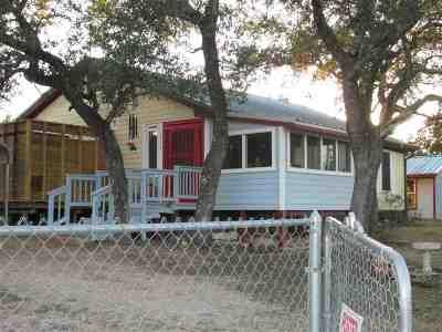 Burnet County Single Family Home Pending-Taking Backups: 513 Judy