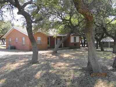 Burnet County Single Family Home Pending-Taking Backups: 103 Brown