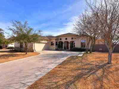 Burnet Single Family Home For Sale: 309 Yellow Ribbon Trail