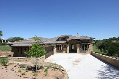 Horseshoe Bay W Single Family Home For Sale: 1113 Mountain Leather