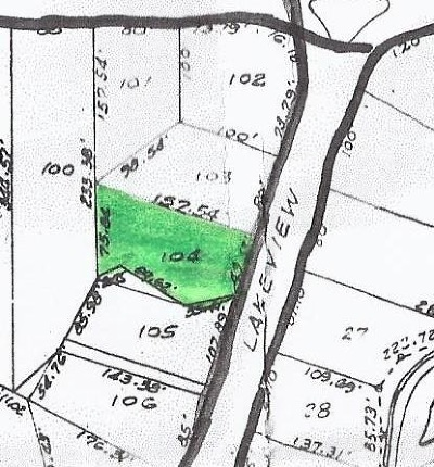 Horseshoe Bay Residential Lots & Land For Sale: 104 Lakeview Dr