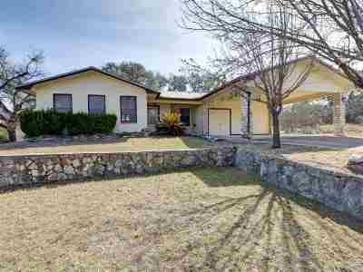 Horseshoe Bay P Single Family Home For Sale: 1103 Ute