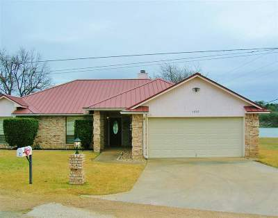 marble falls Single Family Home For Sale: 1305 Lakeshore