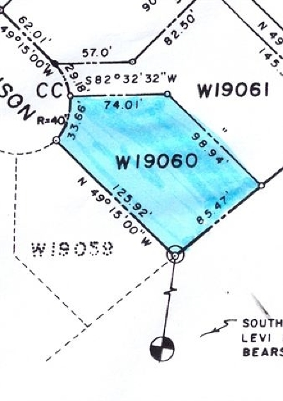 Horseshoe Bay Residential Lots & Land For Sale: W19060 Venison