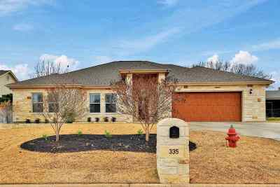 Burnet County Single Family Home For Sale: 335 Firestone Dr