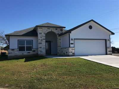 Marble Falls TX Single Family Home For Sale: $269,900
