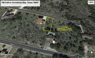 Horseshoe Bay Residential Lots & Land For Sale: 709 Fallow