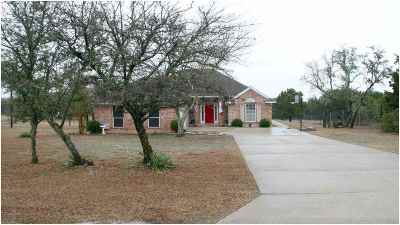 Lampasas County Single Family Home For Sale: 3297 Cr 1020