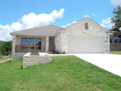 Marble Falls Single Family Home For Sale: 1321 Primrose