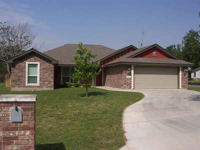 Burnet Single Family Home For Sale: 702 S Pierce