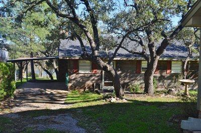 Burnet Single Family Home For Sale: 201 Ponderosa Point Drive