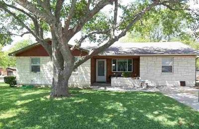 Burnet Single Family Home For Sale: 700 Mildred