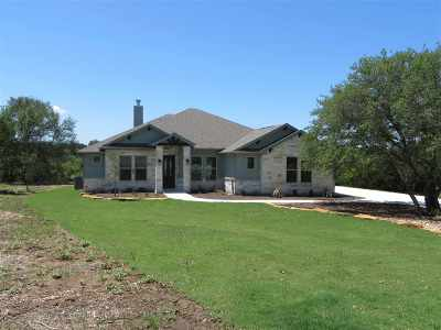 Marble Falls Single Family Home For Sale: 113 Hidden View Trail