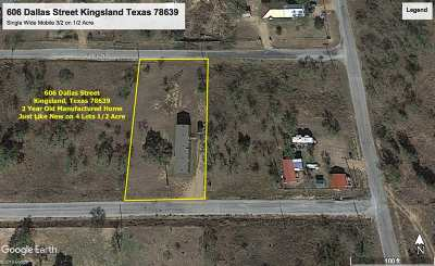 Kingsland Single Family Home For Sale: 606 Dallas Street