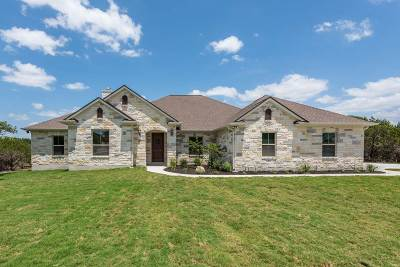 Burnet Single Family Home For Sale: 113 Special Effort