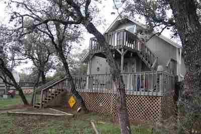 Burnet Single Family Home Pending-Taking Backups: 312 Monte Vista