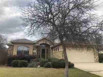 Marble Falls Single Family Home Pending-Taking Backups: 812 Woodland Park