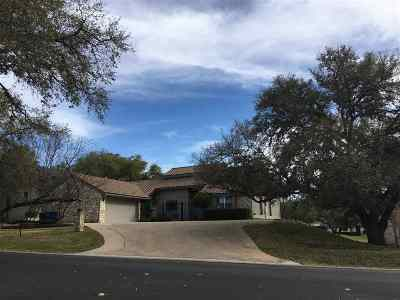 Horseshoe Bay TX Single Family Home For Sale: $359,900