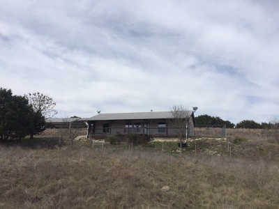 Lampasas Farm & Ranch For Sale: 9801 County Road 3420
