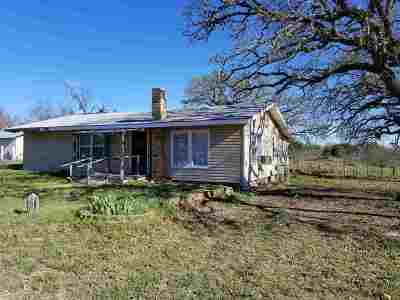 Burnet Single Family Home For Sale: 2337 Ranch Road 2341