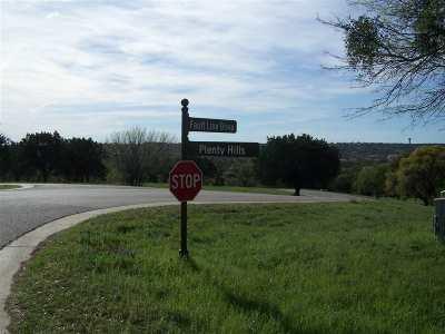 Horseshoe Bay Residential Lots & Land For Sale: W17016 Plenty Hills