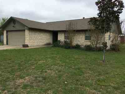 Burnet County Single Family Home For Sale: 304 Sunset Drive