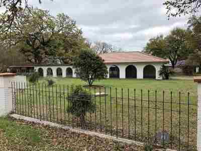 Buchanan Dam Single Family Home For Sale: 1000 Pebble