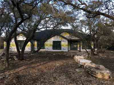 Marble Falls Single Family Home For Sale: 115 Creekside