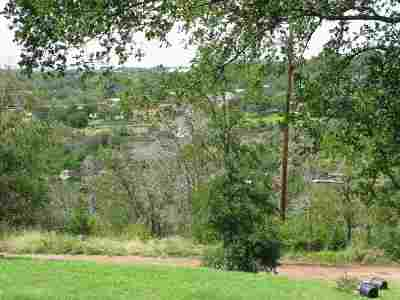 Marble Falls TX Residential Lots & Land For Sale: $19,000