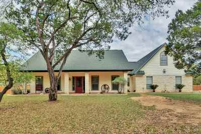 Marble Falls Single Family Home Pending-Taking Backups: 970 Avenida Serena