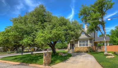 Marble Falls Single Family Home Pending-Taking Backups: 97 Sixth