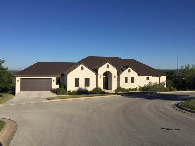 Marble Falls TX Single Family Home For Sale: $525,000