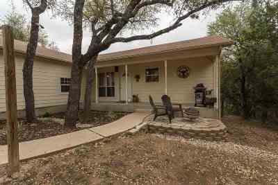 Spicewood Single Family Home Pending-Taking Backups: 115 Rolling Hills