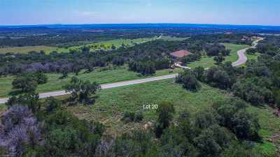 Marble Falls Residential Lots & Land For Sale: Lot 20 Sandstone Ridge Dr
