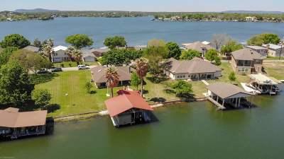 Granite Shoals Single Family Home For Sale: 117 Web Isle