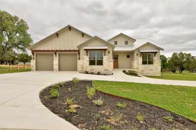 Horseshoe Bay Single Family Home For Sale: 1405 Hi Fault
