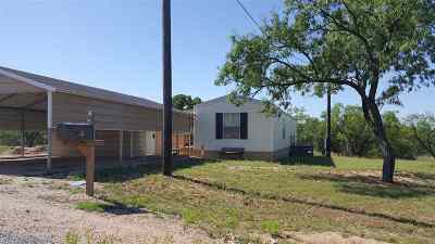 Kingsland TX Single Family Home For Sale: $78,900