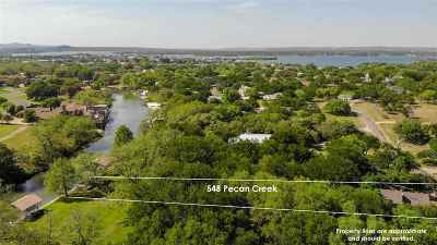 Horseshoe Bay Single Family Home For Sale: 548 Pecan Creek