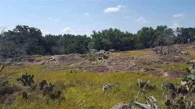 Burnet County Farm & Ranch For Sale: W Granite Hills Drive