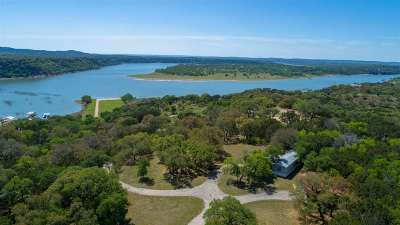Marble Falls Single Family Home For Sale: Swift Water