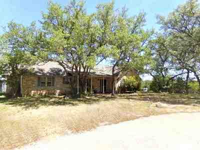 Burnet Single Family Home For Sale: 219 Thomas Ridge Road