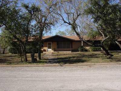 Burnet Single Family Home Pending-Taking Backups: 1406 Oak