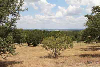 Horseshoe Bay W Residential Lots & Land For Sale: 110 Cactus Canyon